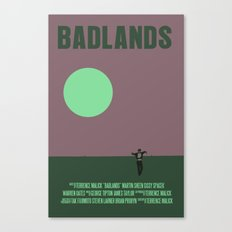 Badlands Movie Poster Canvas Print
