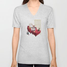 Sam Camp Unisex V-Neck