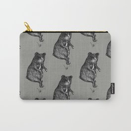 Ride On Bear_grey Carry-All Pouch