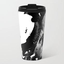 Drilling for that black gold in our oceans, black wave Travel Mug