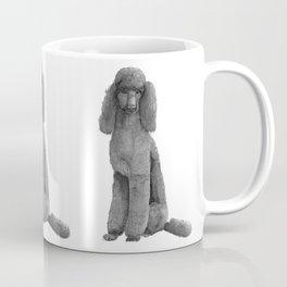 Poodle - standard black Coffee Mug