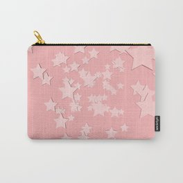 Pink stars pattern  Carry-All Pouch