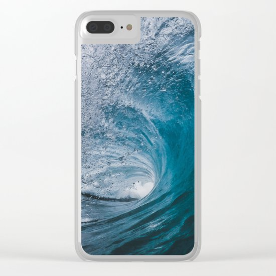 Great Surf Clear iPhone Case