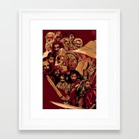 hobbit Framed Art Prints featuring Hobbit Tribute by Hyung86