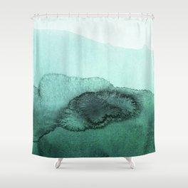 inkblot pastels 2 Shower Curtain