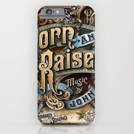 john mayer born raised tour 2020 ngamin iPhone Case