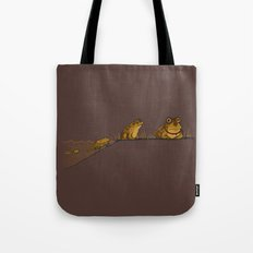 Evolution of Hypnotoad Tote Bag