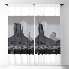 Monument Valley #3 Blackout Curtain