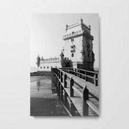 PORTUGAL ... Lisbon - Torre de Belem Metal Print