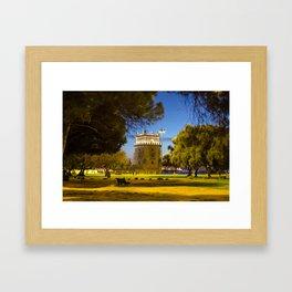 Belem Tower Lisbon Framed Art Print