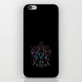 Ninja's Creed iPhone Skin