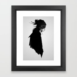The Drift Framed Art Print