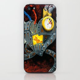 My rusted heart  iPhone Skin