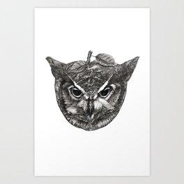 Owl Be Watching Art Print