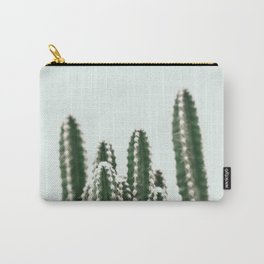Blue Sky Cactus Carry-All Pouch