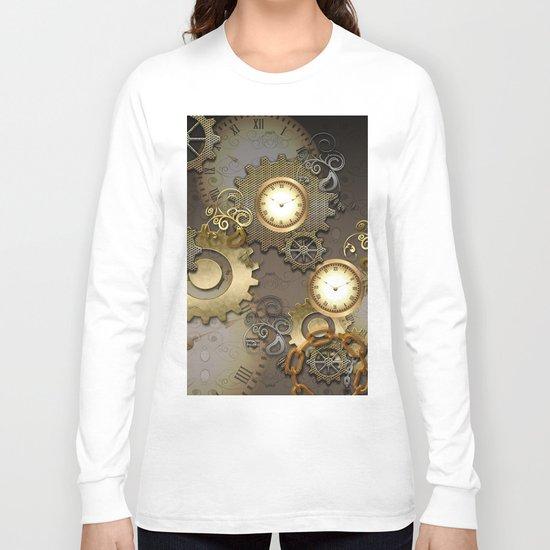 Abstract mechanical design Long Sleeve T-shirt