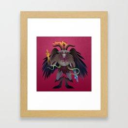 Baphomet Framed Art Print