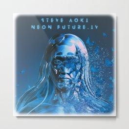 STEVE AOKI - NEON FUTURE IV Metal Print