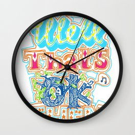 oh well that's ok then Wall Clock
