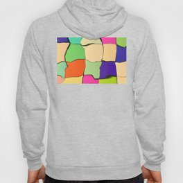 Distorted Color Cubes Hoody