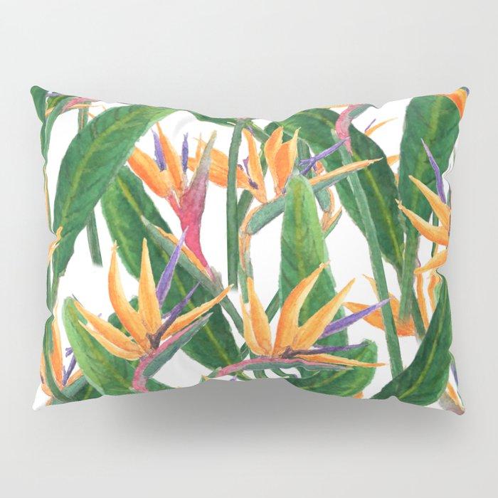 bird of paradise pattern Pillow Sham
