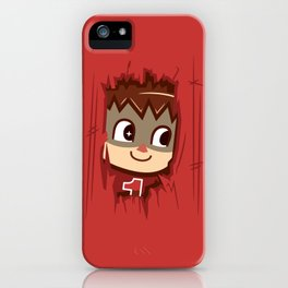 Heeeeere's..... the Villager! iPhone Case