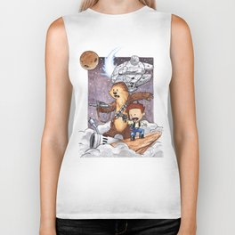 The Boys Calvin and Chewie Biker Tank