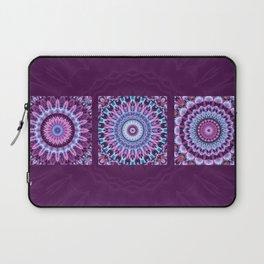 Mandala Collage violett Laptop Sleeve