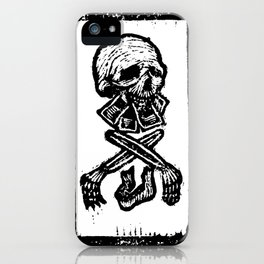 Modeled by Society iPhone Case