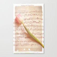 Tulip Music  Canvas Print