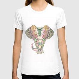 Mandala elephant psicodelic T-shirt