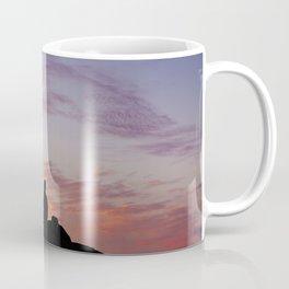 Man Enjoying Sunset II Coffee Mug