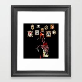 50'S Mood! Framed Art Print