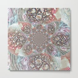 Mandala Dreams Metal Print