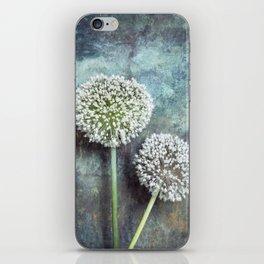 Allium Flowers iPhone Skin