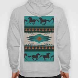American Native Pattern No. 156 Hoody