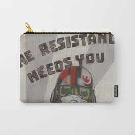 The Resistance Needs You Carry-All Pouch