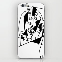 Picasso Guitare et Boîte (Guitar and Box) 1925 Artwork Reproduction iPhone Skin