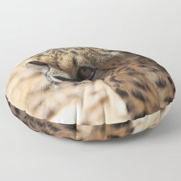 African Cheetah Floor Pillow