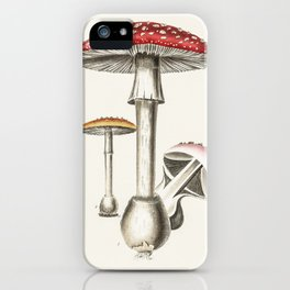 The Real Mushroom iPhone Case