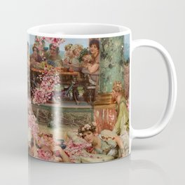 The Roses Of Heliogabalus By Sir Lawrence Alma Coffee Mug