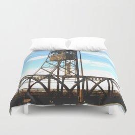 Stillwater Draw Bridge Duvet Cover