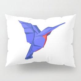 Origami Colibri Pillow Sham