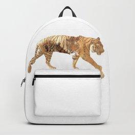 Tiger tripple exposure Backpack