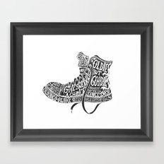 Oldies but Goodies Framed Art Print