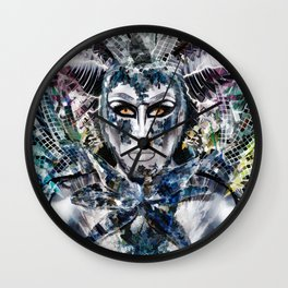 Close Encounters with Glen Alen in OvahFx - Art without a brush  Wall Clock