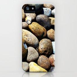 Beach town rocks iPhone Case