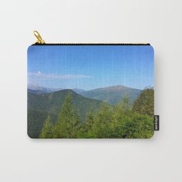 Mountain and trees Carry-All Pouch