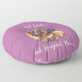 Stardust Lion Floor Pillow