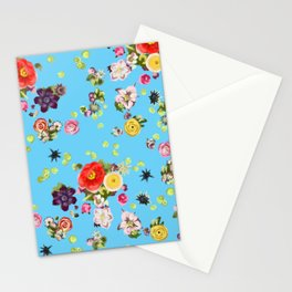 Floating Flowers Stationery Cards